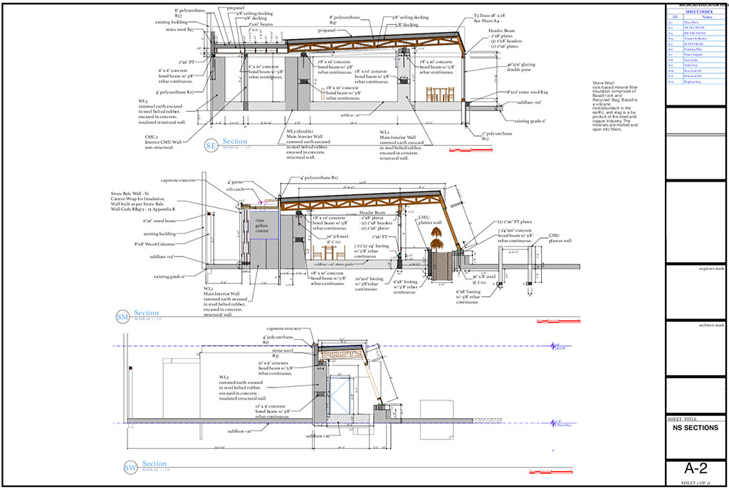 global-model-1bed-construction-drawings-ns-sections