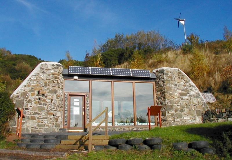 scotland earthship