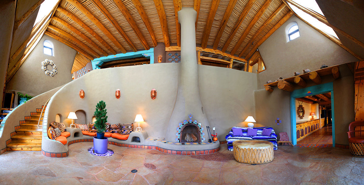 offgrid sustainable luxury earthship biotecture