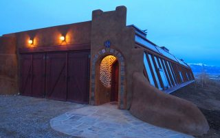 offgrid sustainable earthships