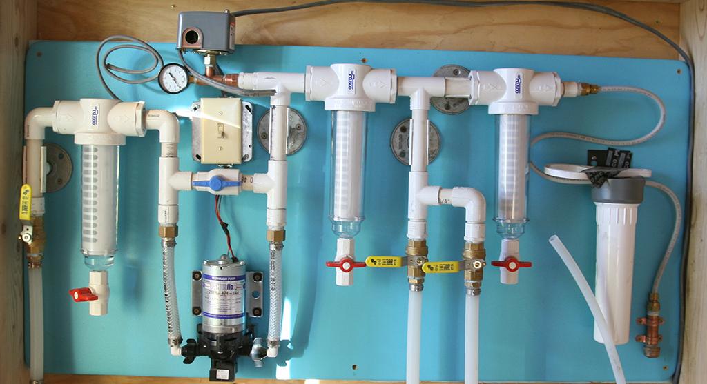 catch water organizing module
