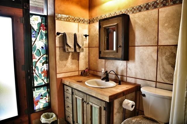 earthship bathroom sustainable green builders