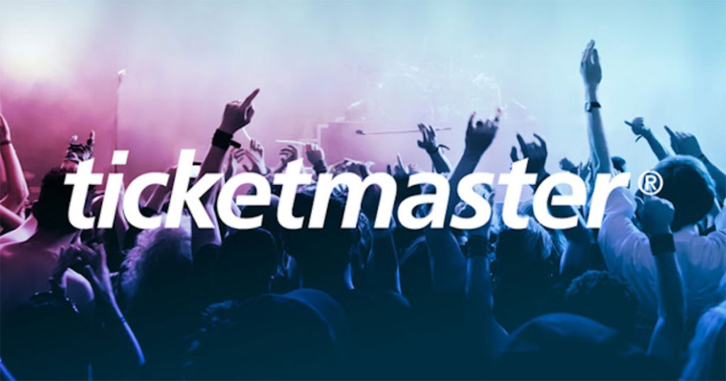 Ticketmaster web development and marketing services
