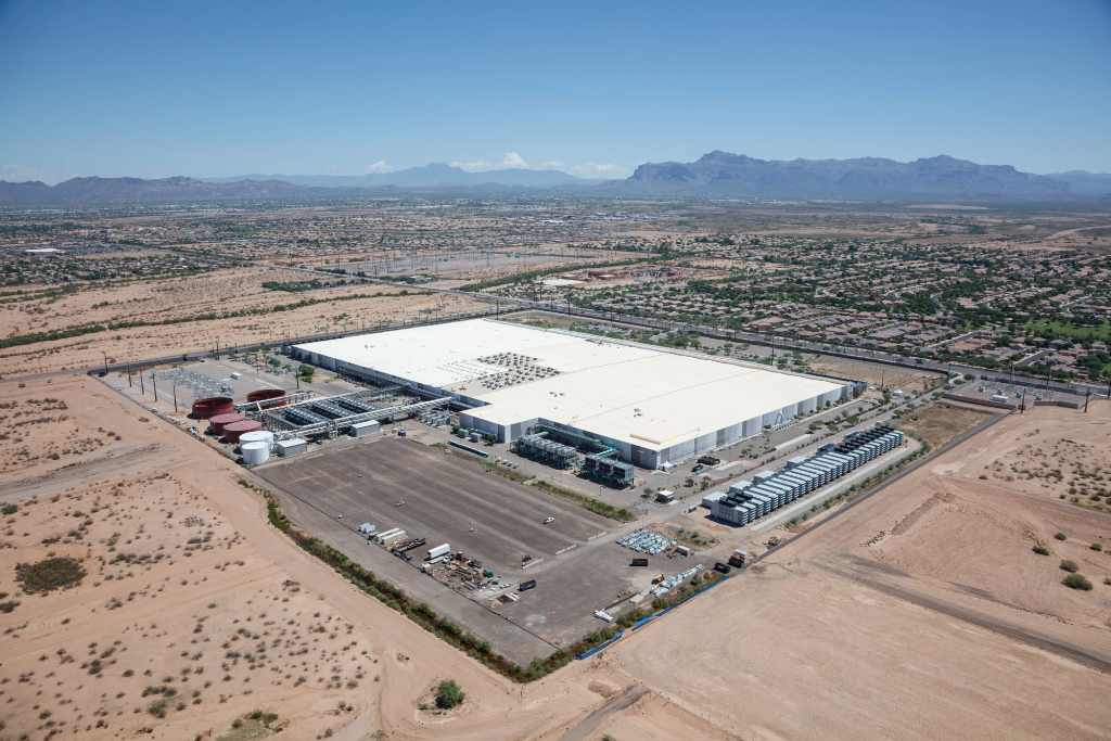 Apple Data Center in Mesa Arizona