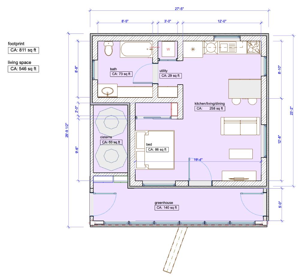 earthship accessory dwelling unit