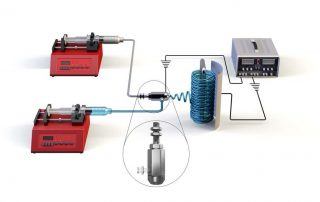 The electrospun nanofiber membrane filters out nearly all salt.