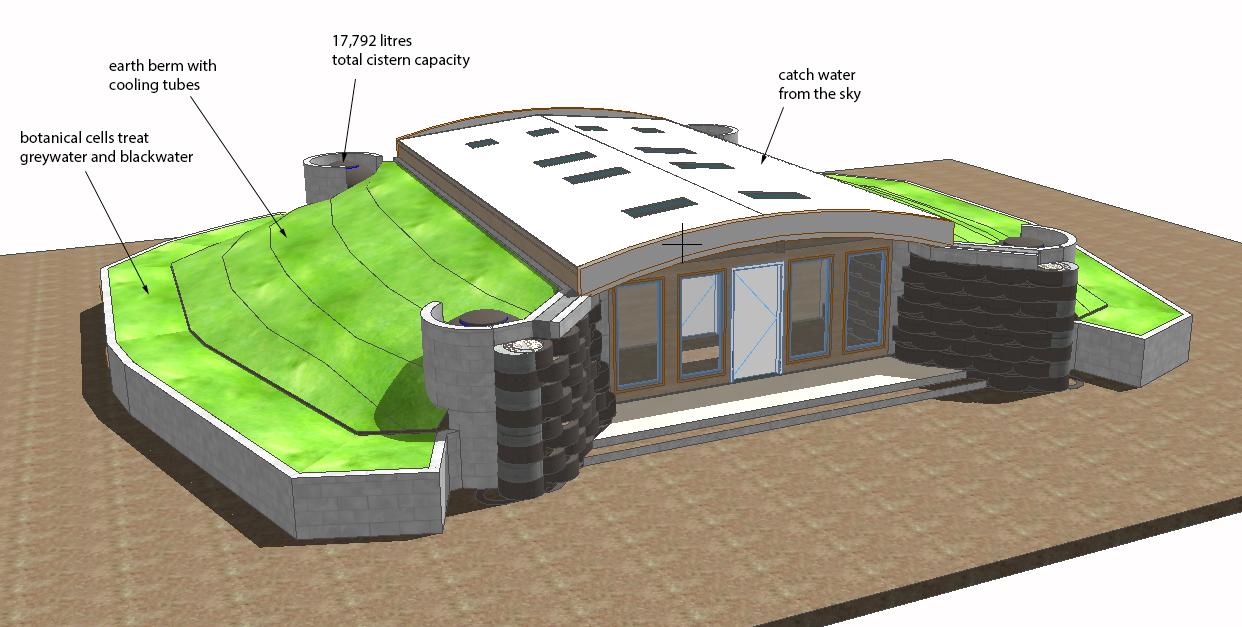 Women Empowerment Floor Plan Guanacottawa Art School El Salvador Earthship