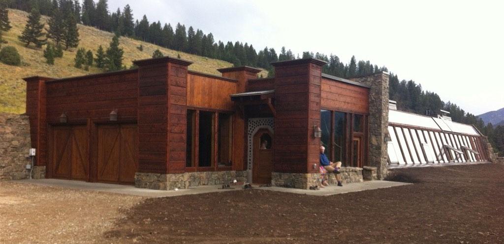 Montana earthship offgrid